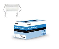 Tipkin mondmasker 3-laags koortjes wit