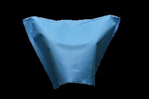 Hoofdsteunzak blauw 25x33cm