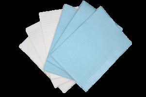 Patiëntenservet 3-laags blauw 35x46cm