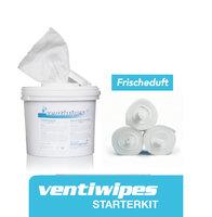 Ventiwipes starterkit Ventisept liquid AF