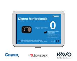 Digora Soredex fosforplaatje maat 0 (3+1 gratis)