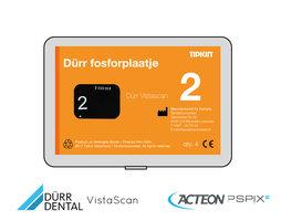 Dürr Vistascan fosforplaatje maat 2 (3+1 gratis)