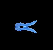 V-Wedge blauw small 100 stuks